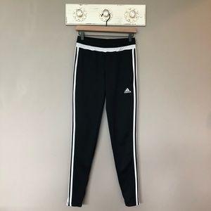 Adidas | Black & White Skinny Leg Athletic Pants